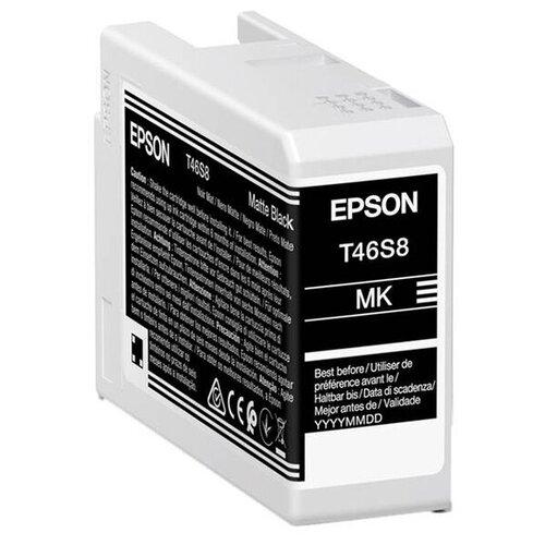Фото - Картридж Epson T46S Matte Black C13T46S800 для SC-P700 epson бумага epson water resistant matte canvas 44 x 12 2м c13s042016