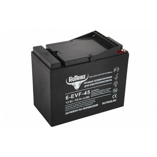 Тяговый гелевый аккумулятор RuTrike 6-EVF-45