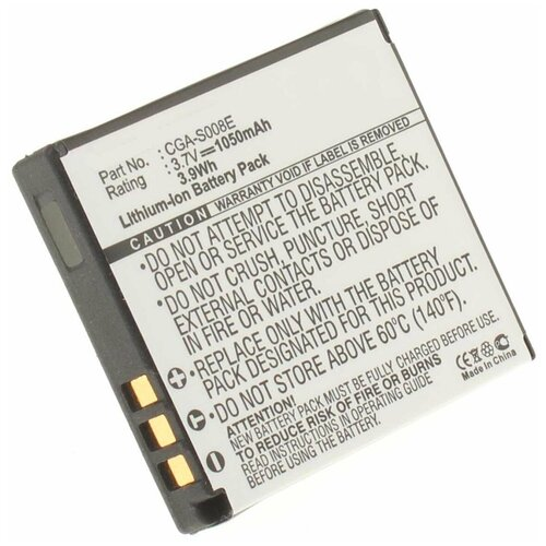 Фото - Аккумулятор iBatt iB-B1-F187 1050mAh для Leica, Panasonic VW-VBJ10, DMW-BCE10, аккумулятор ibatt ib b1 f457 3400mah для panasonic vw vbt190 vw vbt380 vw vby100 vw vbt380e k