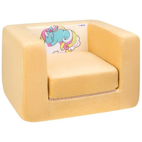 Кресло-кровать PAREMO детское PCR320 Дрими Крошка Соня размер: 52х45 см, обивка: ткань, цвет: желтый