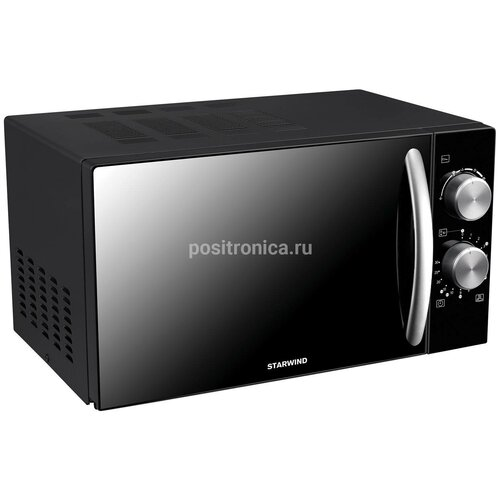 Микроволновая печь Starwind SMW3420 20 л, 700 Вт, черный/хром