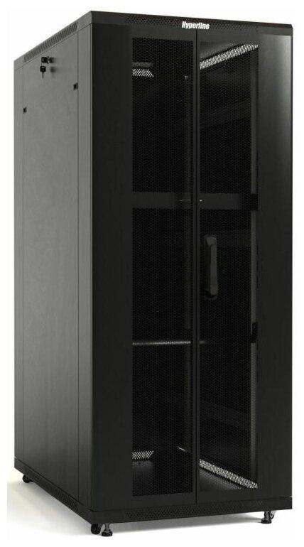 <b>Шкаф</b> <b>напольный</b> 19-дюймовый Hyperline TTB-3261-DD-RAL9004