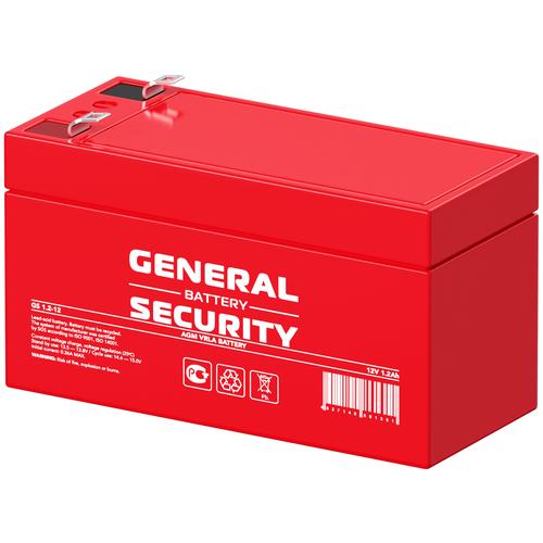 General Security Аккумулятор General Security GS 1,2-12