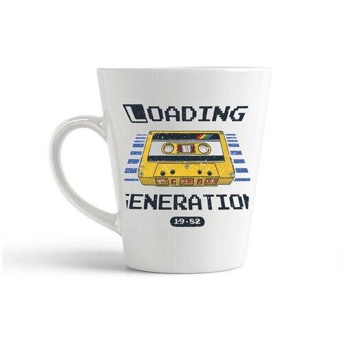 Кружка-латте CoolPodarok Loading касета