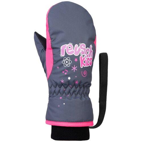 Варежки Reusch Kids Mitten размер 4, 4506 ombre blue/knockout pink