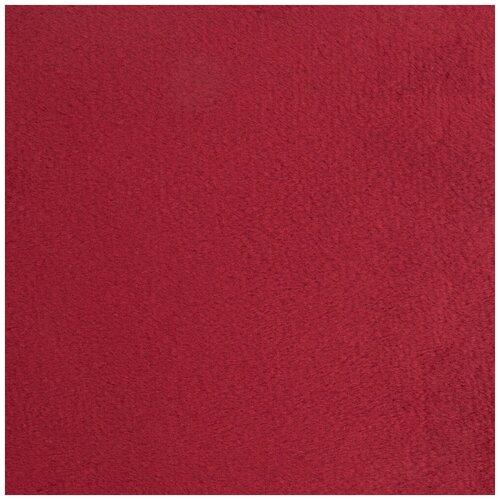 Плюш Peppy 48*48 см, 273 г/м2, 100% полиэстер, 27 бордовый/burgundy (PEV) недорого
