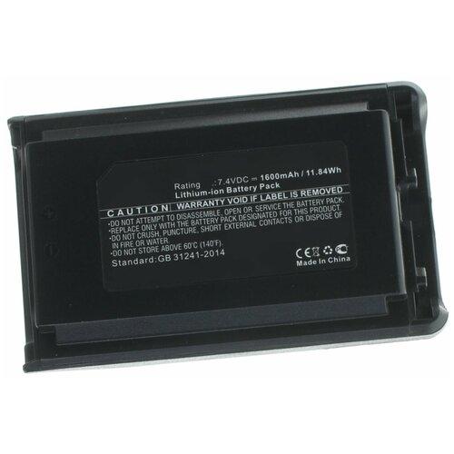 Аккумулятор iBatt iB-U1-M5235 1600mAh для Vertex VX-231, VX-230, VX-231L, VX-234, для YAESU VX-231, VX-230, VX-231L, VX-234,