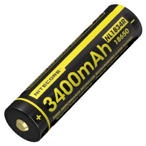 Фото - Аккумулятор 18650 - Nitecore Rechargeable NL1834R Li-Ion 3400mAh 16808 / 1390238 аккумулятор nitecore nl1665r