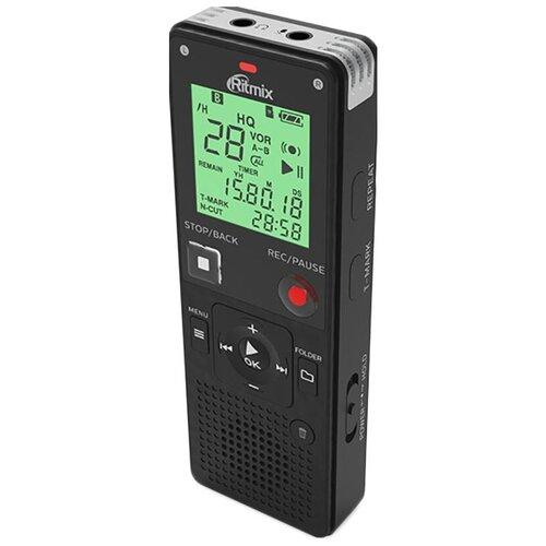 ritmix rr 145 4gb blue Диктофон цифровой Ritmix RR-820 4Gb Black