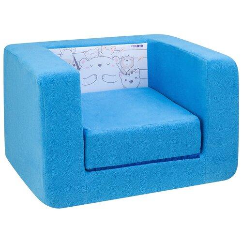 Кресло-кровать PAREMO детское PCR320 Дрими Друзья стиль 1 размер: 52х45 см, обивка: ткань, цвет: лазурь