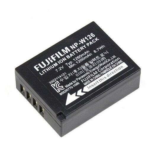 Фото - Аккумулятор FUJI NP-W126 аккумуляторная батарея для фото видеокамер fujifilm finepix hs30 hs33exr x pro 1 np w126 7 4v 1020mah