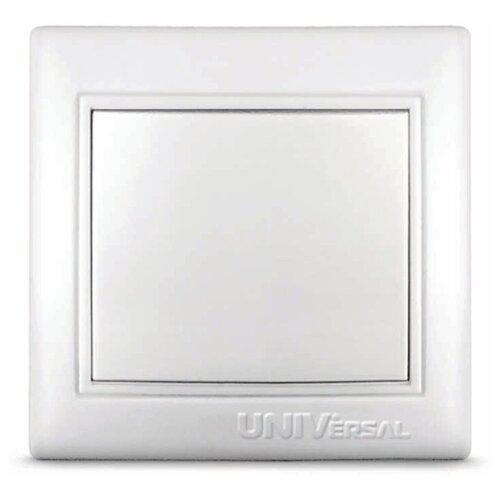 Выключатели скрытой установки Universal Выключатель 1-кл. СП Севиль 10А IP20 бел. UNIVersal С0021