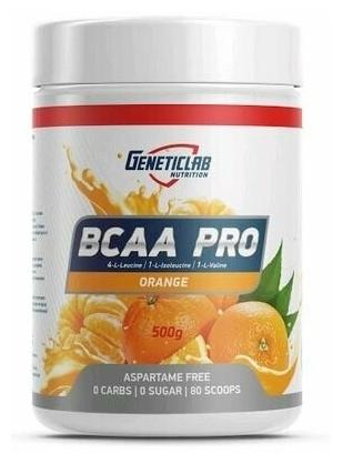 Характеристики модели BCAA PRO powder 500gr/40serv Orange (Апельсин) на Яндекс.Маркете