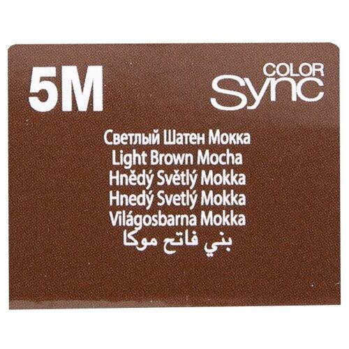 Купить Matrix Color Sync краска для волос без аммиака, 5M светлый шатен мокка, 90 мл