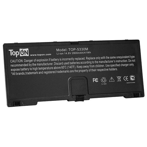 Аккумулятор для ноутбука HP ProBook 5330m Series. 14.8V 2800mAh 41Wh. PN: FN04, HSTNN-DB0H. аккумулятор для ноутбука hp probook 4230 4230s series 4400мач 11 1v topon top hp4230
