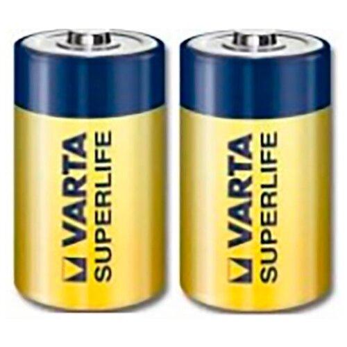 Фото - Батарейка VARTA SUPERLIFE C/LR14 2 шт батарейка c ergolux lr14 alkaline bl 2 lr14 bl2
