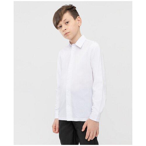 Рубашка Button Blue размер 164, белый