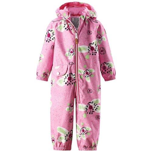 Купить Комбинезон Reima Bloom 510288 размер 86, розовый с цветами, Теплые комбинезоны