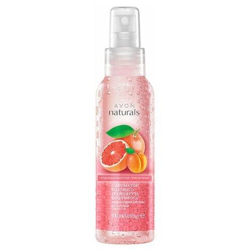 Лосьон-спрей для тела с ароматом розового грейпфрута и абрикоса,100мл