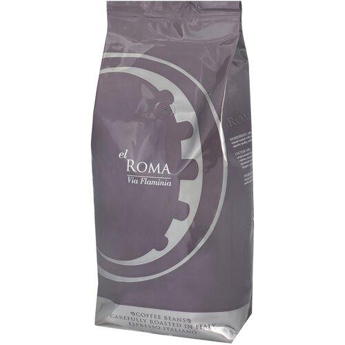 Кофе в зернах El Roma Via Flaminia, 1 кг