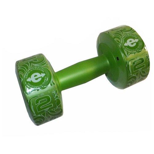 Фото - Гантели Euro Classic Plastic 2kg Lime Green 28265989 medio classic green