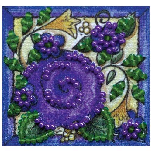 ABRIS ART Набор-магнит для вышивания Цветочный ковер 5 х 5 см (AMM-042) магнит бык селенит 5 5 6 5 см