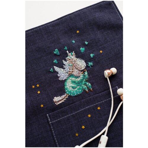 Купить Набор для вышивки крестом на одежде АБРИС АРТ AHО-004 В пижамке 8, 5х9 см, ABRIS ART, Наборы для вышивания