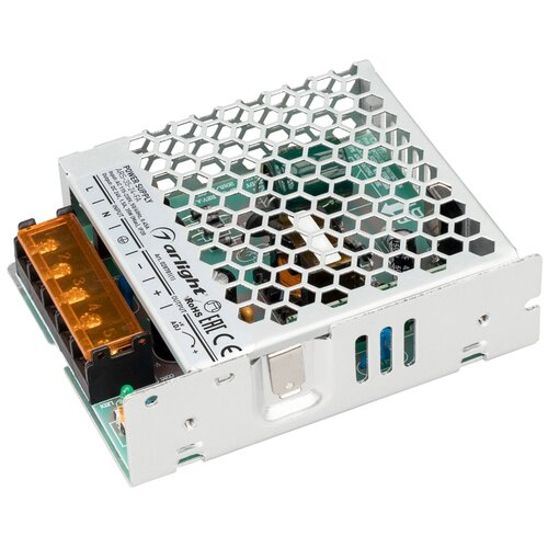 Фото - Блок питания ARS-35-24-FA (24V, 1.5A, 35W) (Arlight, IP20 Сетка, 3 года) блок питания ars 120 24 ls 24v 5a 120w
