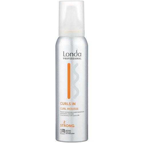 Londa Professional Curls In мусс для кудрявых волос сильной фиксации, 150 мл
