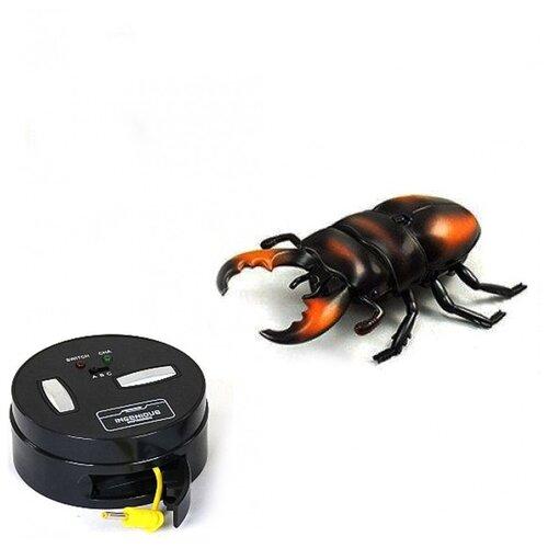 Купить Радиоуправляемый робот ZF Коричневый с пятнами Жук Рогач - ZF-9996F, Jiahuifeng, Роботы и трансформеры