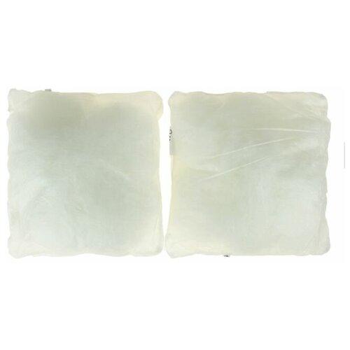 Набор подушек Адамас синтетических 40х40см 2шт, микрофайбер чехол спанбонд, п/э