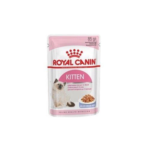 Royal Canin Kitten Instinctive Пауч 85г влажный корм в желе для котят в возрасте до 12 месяцев
