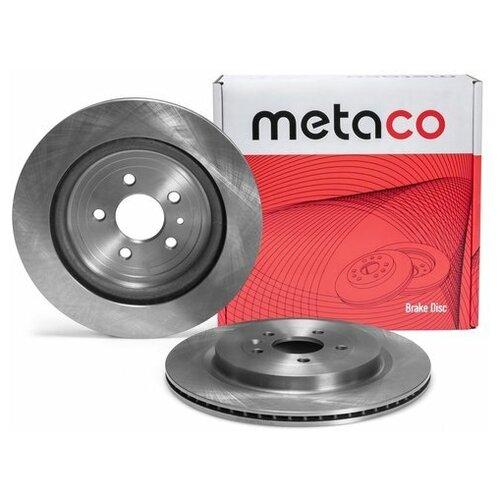 Диск тормозной задний (Производитель: METACO 3060234)