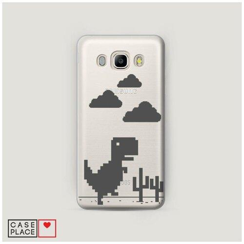 Чехол Пластиковый Samsung Galaxy J5 2016 Динозавр гугл