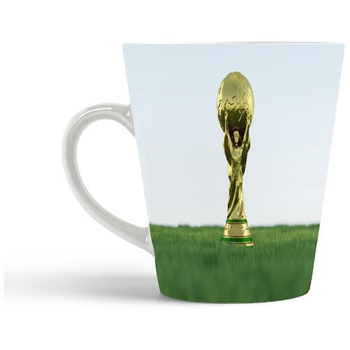 Кружка-латте CoolPodarok Футбол Футбольный кубок Фифа