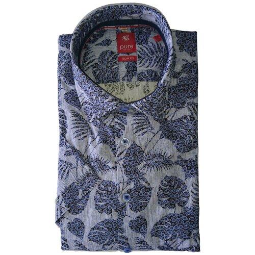 Рубашка pure размер XXL синий