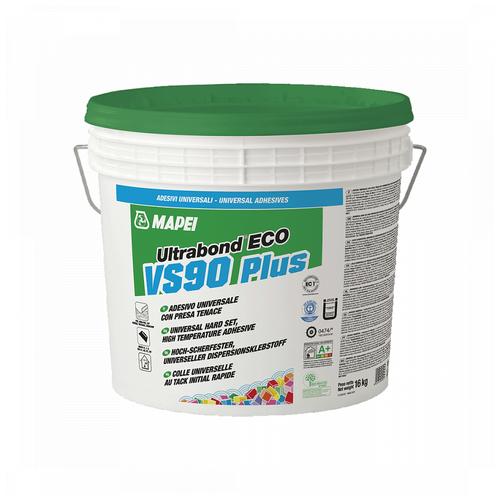 Ultrabond Eco VS90 Plus, универсальный высокотемпературный клей для всех гибких и текстильных напольных покрытий, 16 кг