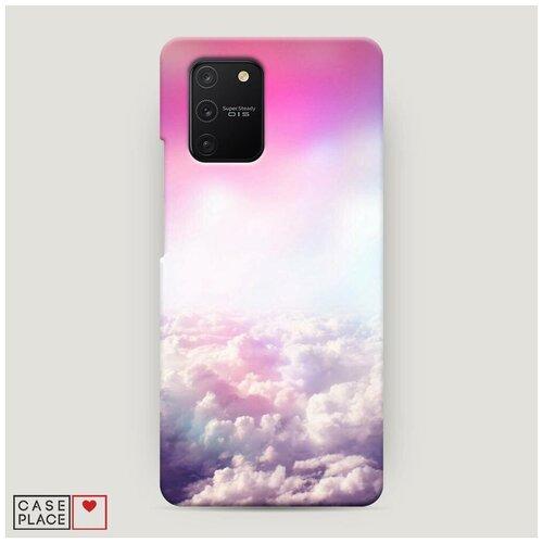 Чехол Пластиковый Samsung Galaxy A91 Постельные облака