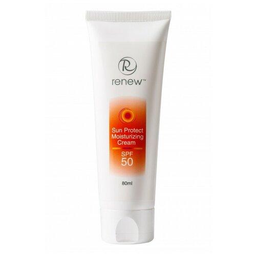RENEW / Sun Protect Moisturizing Cream SPF-50 / Увлажняющий солнцезащитный крем SPF-50, 80 мл