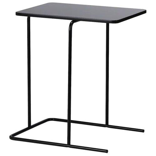 RIAN риан Придиванный столик, черный55x40 см
