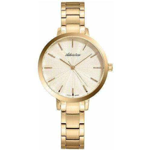 Швейцарские часы наручные женские Adriatica A3740.1111Q часы наручные швейцарские женские adriatica a3188 1111q