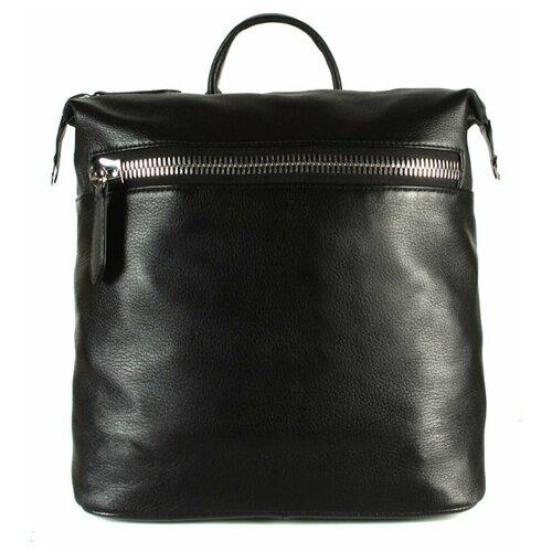 Рюкзак женский / Рюкзак натуральная кожа / Рюкзак трансформер А-СВ-1600/черный