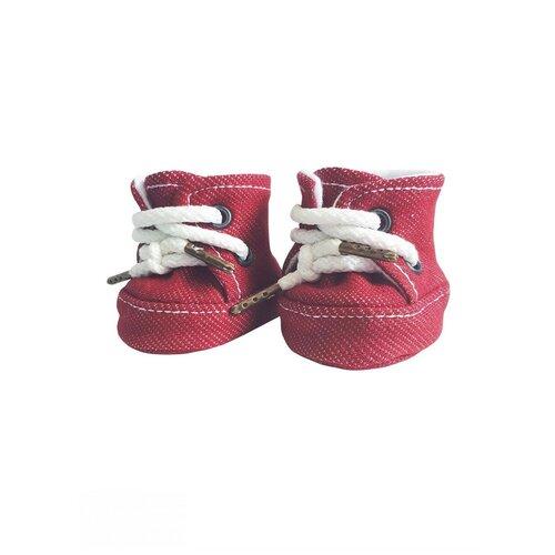 Одежда для кукол Колибри, Кроссовки красный