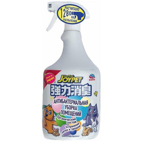 Средство для уборки за животными Japan Premium Pet спрей для антибактериальной уборки в помещении после прогулки питомца и устранения следов и пятен туалета