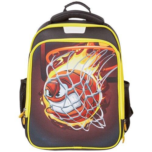 Купить Ранец №1 School Flex, Basketball, 2 отделения, ортопедическая спинка, формованный, Рюкзаки, ранцы