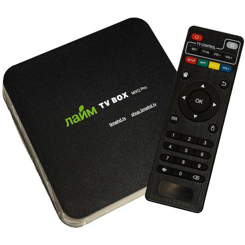 Фото - ТВ приставка Лайм TV box MXQ pro 1/8 Гб (черный) тв приставка лайм tv box z2 plus 4 32 гб