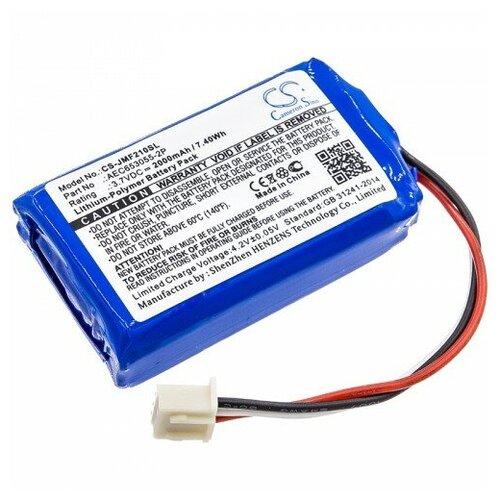 Аккумуляторная батарея CameronSino CS-JMF210SL для колонки JBL Flip 2 (2013), JBL Flip 2 (2014) (AEC653055-2P) 3.7V 2000mAh 7.4Wh