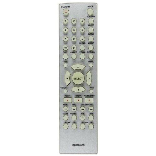 Фото - Пульт ДУ BBK RC 019-02R DVD пульт rc 49c dvd для tcl