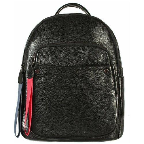 Рюкзак/Рюкзак женский/Рюкзак женский натуральная кожа/MEYNINGER/КС-2056/черный/модель рюкзак/городской
