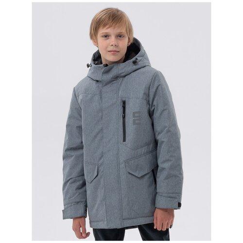 Купить Куртка EMSON размер 140, серый, Куртки и пуховики